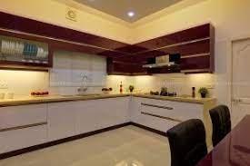4bhk villa kitchen interiors at Ernakulam Kerala