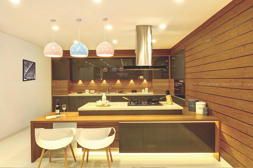 modular kitchen design Leading Interior Design Company in Cochin since 2004