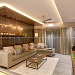 Living room by DLIFE Home Interiors Company at Kottayam, Kerala