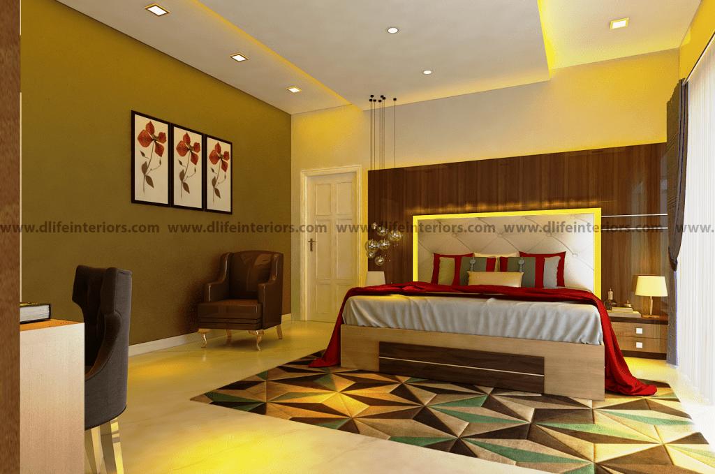 Master bedroom interiors design