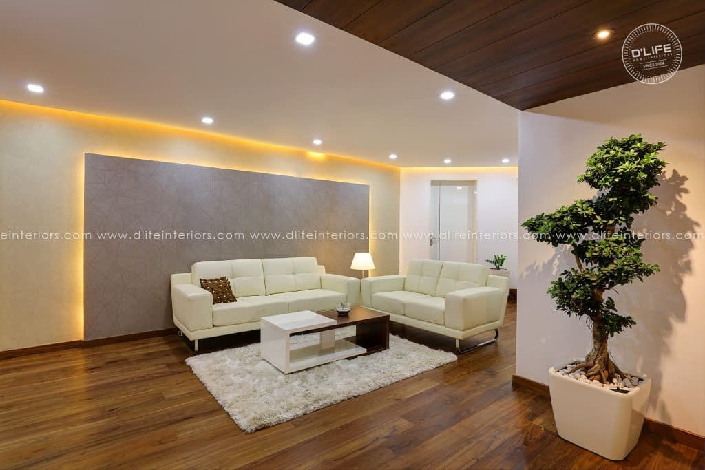 Minimalist-Interior-design-with-Simple-furniture-and-decorative-items-by-DLIFE-Home-Interior-Designers-in-Kerala