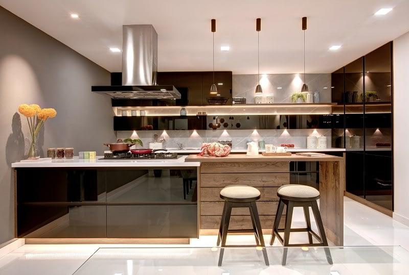 modern kitchen design kochi