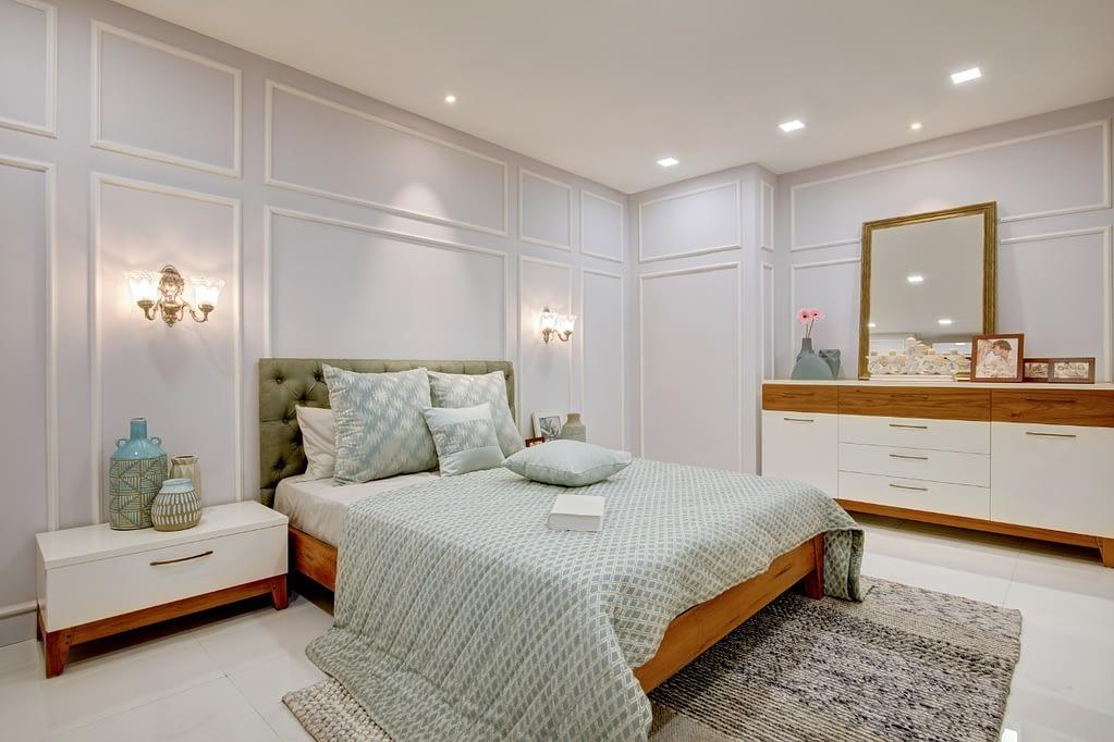 Bedroom interiors Kerala