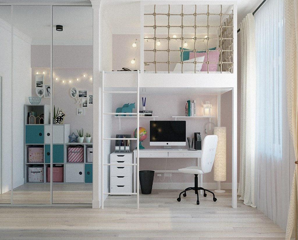 Interesting-Ideas-for-Creating-Girls-Bedroom-Interiors-
