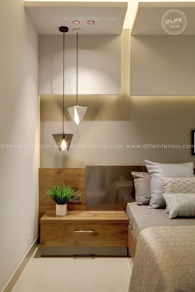 Bedroom-Interiors-at-Purva-Grand-Bay-apartment-Kochi
